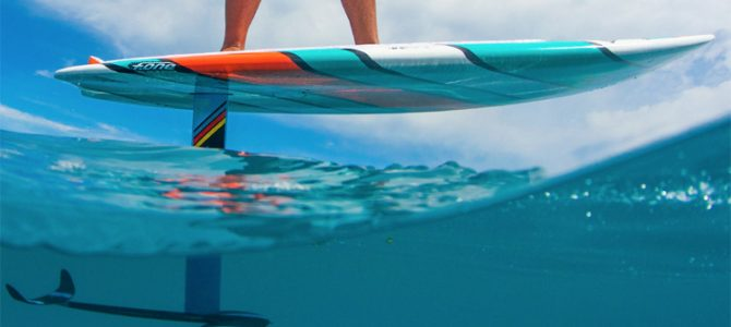 SUP FOILING!!!